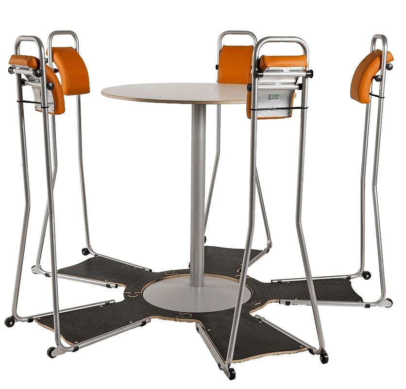 Opstelling rond Stahulp Workstand