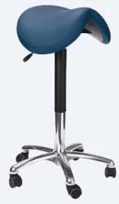 Een zadelkruk is een goede ergonomische zitoplossing als je een stoel wilt kopen.