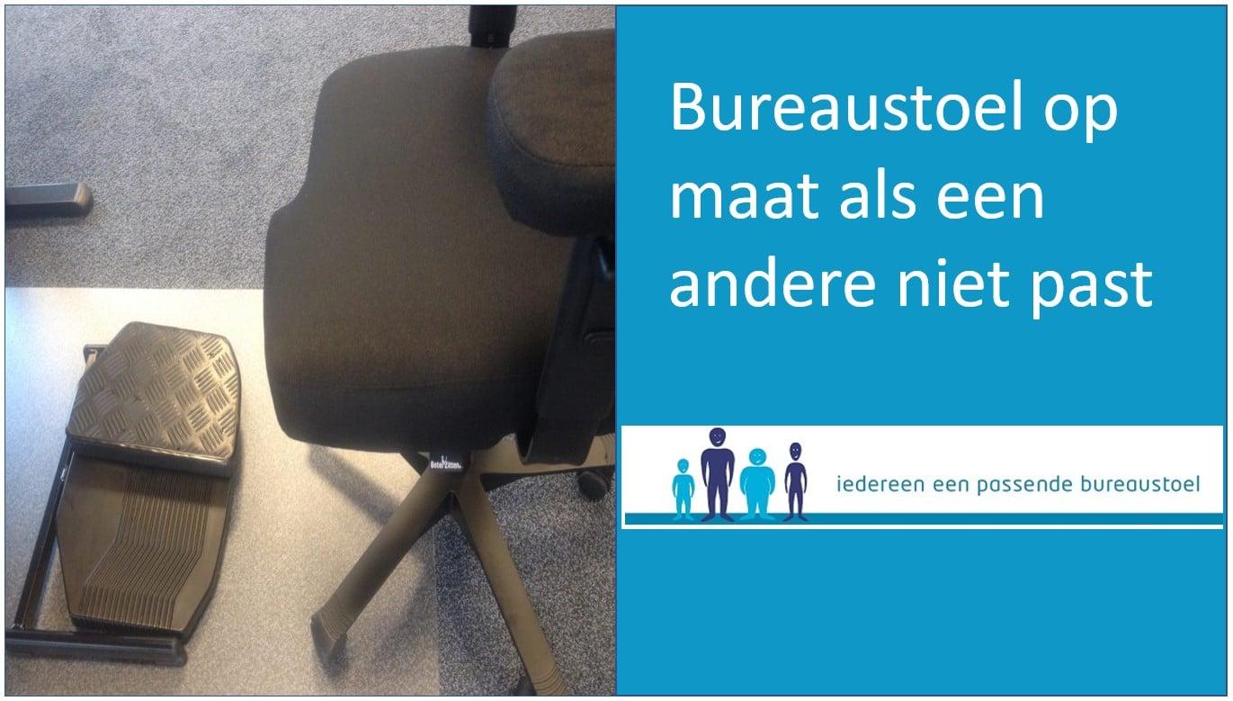 Ergonomische bureaustoel op maat