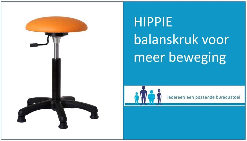 HIPPIE balanskruk voor meer beweging