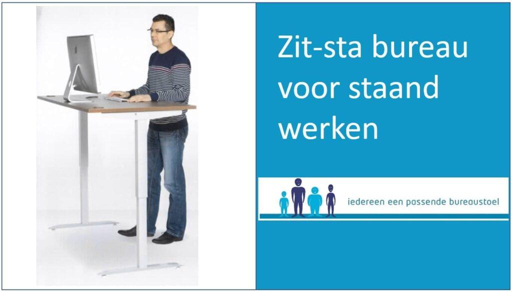 Zit sta bureaus voor staand werken