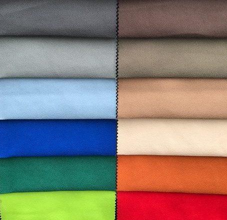 DIverse kleuren en stoffen voor de Nuance.