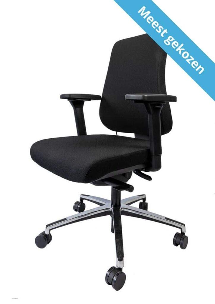 Tips voor een juiste afstelling van uw bureaustoel BeterZitten