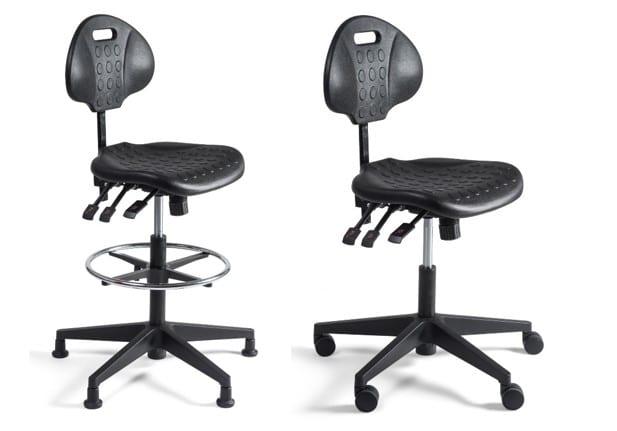 muziekstoel hoog of laag op doppen of met wielen